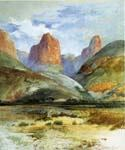 Colburn s Butte South Utah by  Thomas Moran (Painting ID: LA-5716-KA)