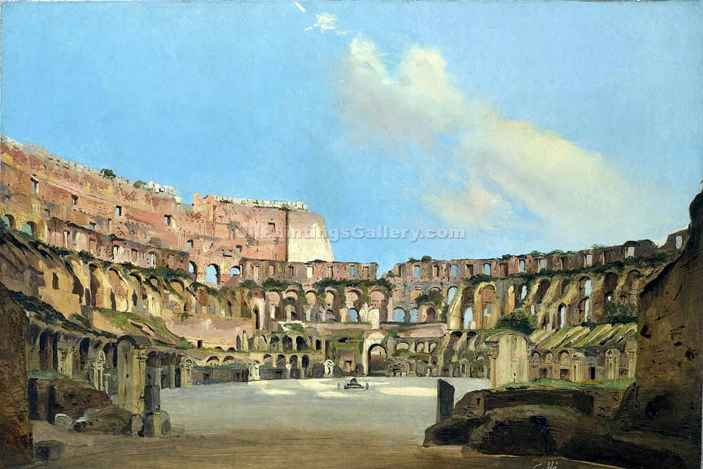"""Colosseum"" by  Ippolito Caffi"