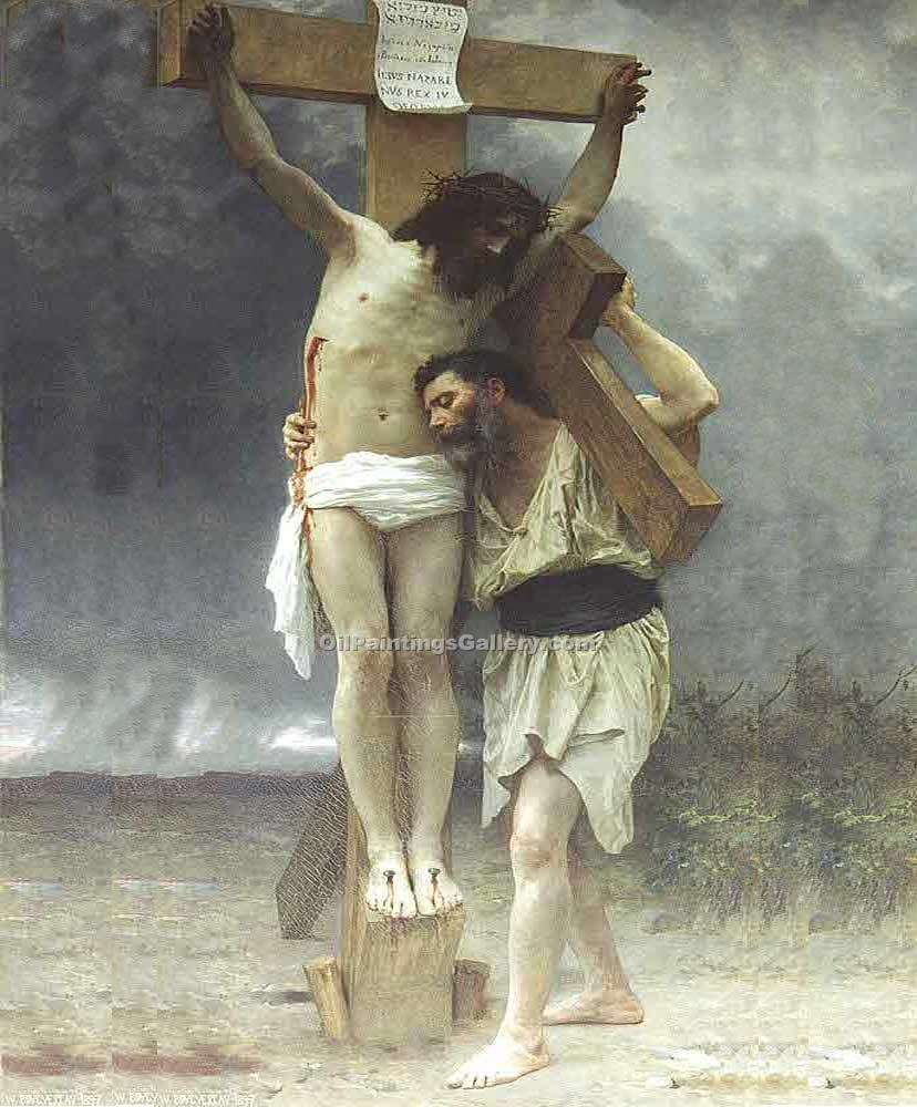 """Compassion!"" by  Adolphe Bouguereau"