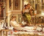 Corner of the Villa by  Sir Edward John Poynter (Painting ID: CL-1122-KA)