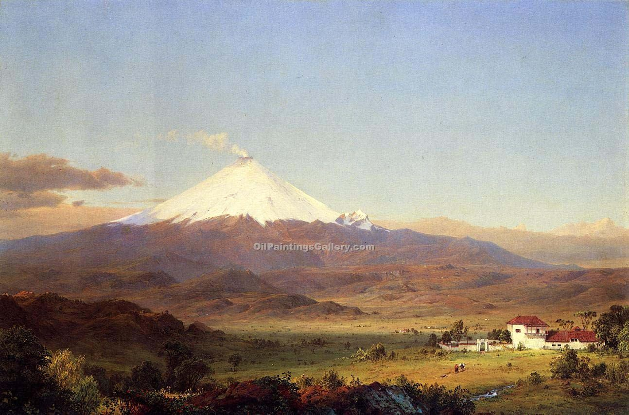 """Cotopaxi"" by  Frederic Edwin Church"