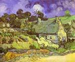Cottages with Thatchhed by  Vincent Van Gogh (Painting ID: VG-0256-KA)