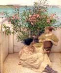 Courtship 17 by  Sir Lawrence Alma Tadema (Painting ID: EI-1317-KA)