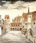 Courtyard of Castle  (Painting ID: CI-2047-KA)