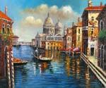 Crossing the Grand Canal 09  (Painting ID: CI-1509-KA)