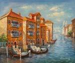 Crossing the Grand Canal 16  (Painting ID: CI-1516-KA)