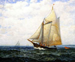 Cruising Yacht by  James Gale Tyler (Painting ID: LA-2176-KA)