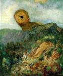 Cyclops by  Odilon Redon (Painting ID: CK-0038-KA)