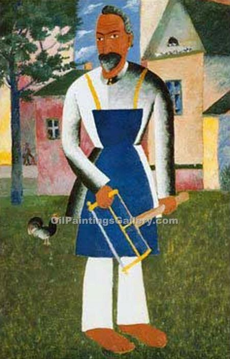 """Dacia Owner"" by  Kasimir Malevich"