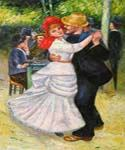 Dance at Bougival Oil Painting (ID: CL-4411-B)