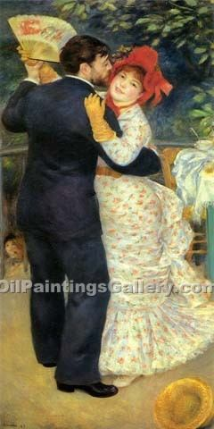 """Dance in the Country"" by  Pierre Auguste Renoir"