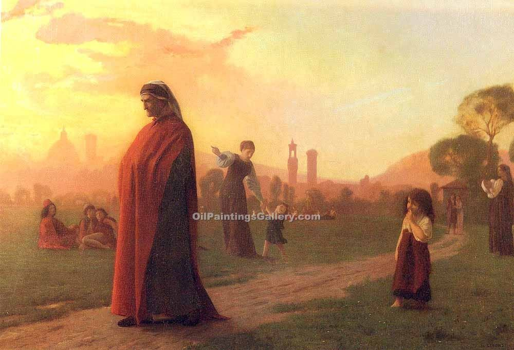 """Dante (He Hath Seen Well)"" by  Jean Leon Gerome"