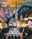 Davos by  Ernst Ludwig Kirchner (Painting ID: LA-0994-KA)