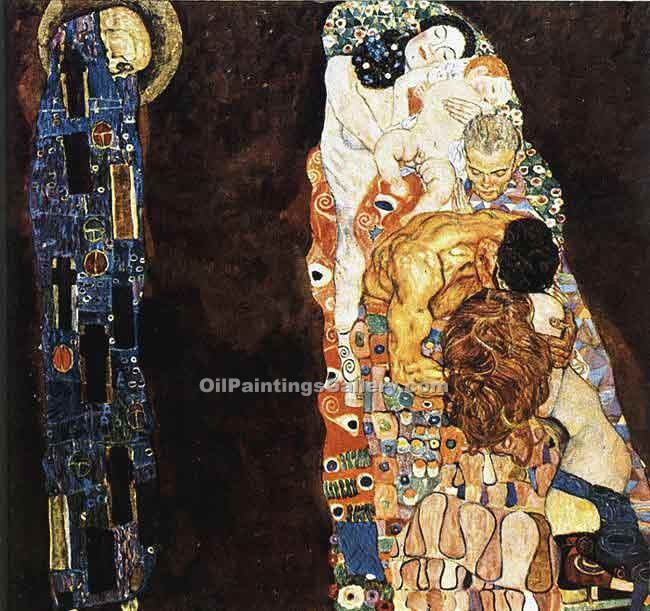 """Death and Life"" by  Gustav Klimt"