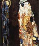 Death and Life by  Gustav Klimt (Painting ID: EI-1819-KA)
