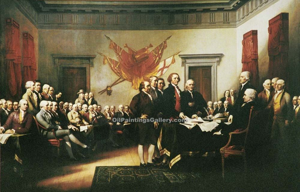 """Declaration of Independence"" by  John Trumbull"