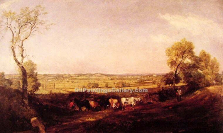 """Dedham Vale Morning"" by  John Constable"
