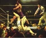 Dempsey and Firpo by  George Bellows (Painting ID: GE-2203-KA)