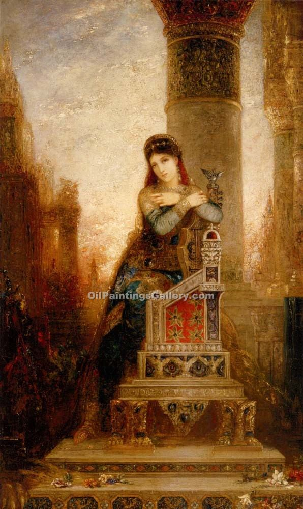 """Desdemone"" by  Gustave Moreau"