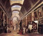 Design for the Grande Galerie in the Louvre by  Hubert Robert (Painting ID: CM-0871-KA)