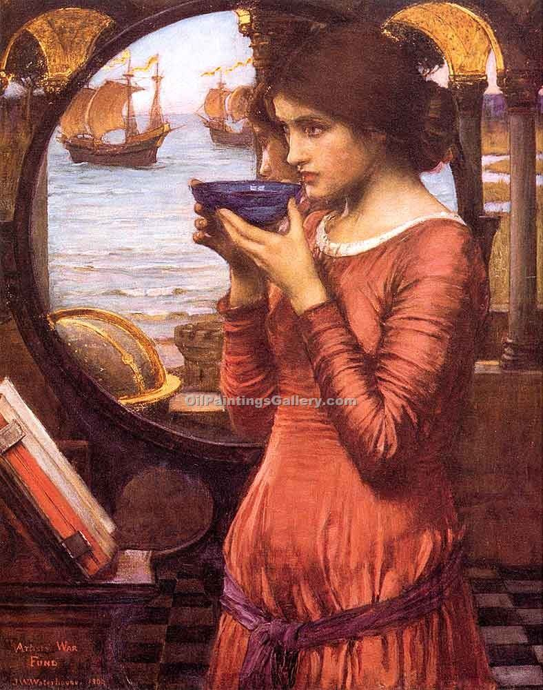"""Destiny"" by  John William Waterhouse"