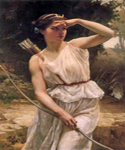 Diana Hunting by  Guillaume Seignac (Painting ID: ED-0787-KA)