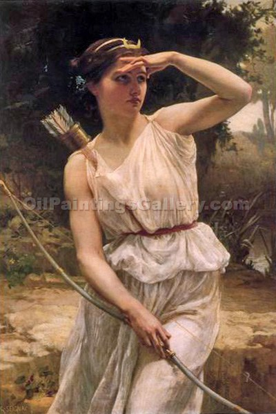 """Diana Hunting"" by  Guillaume Seignac"