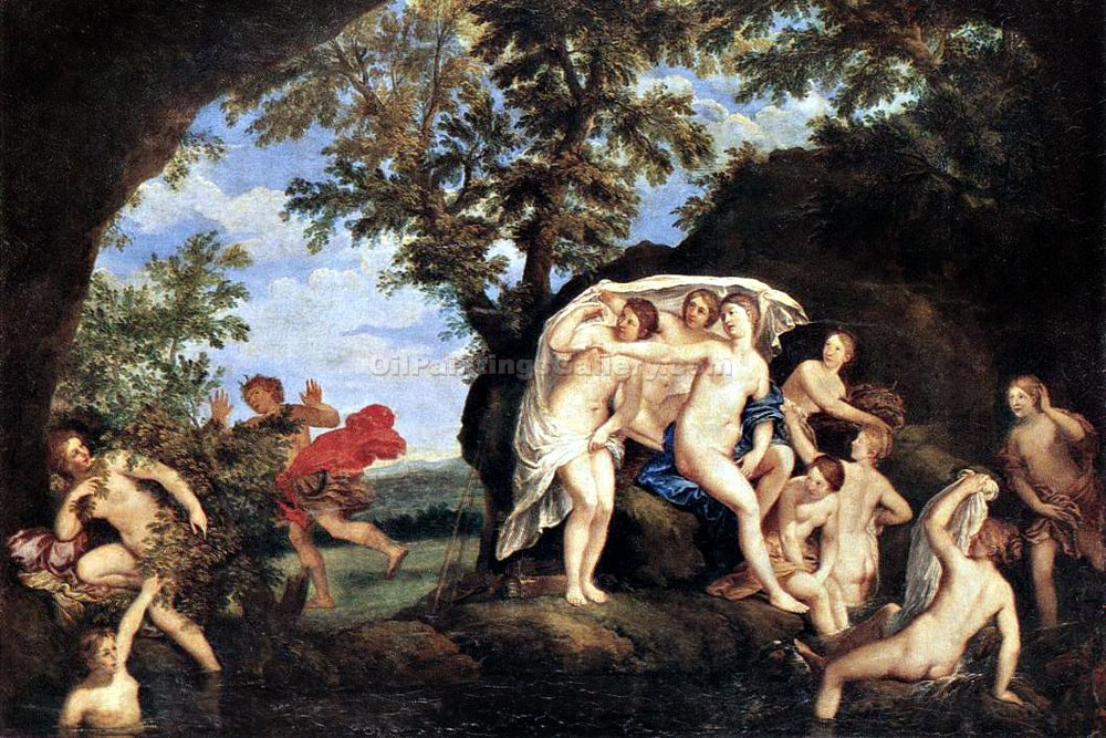 """Diana and Actaeon"" by  Francesco Albani"