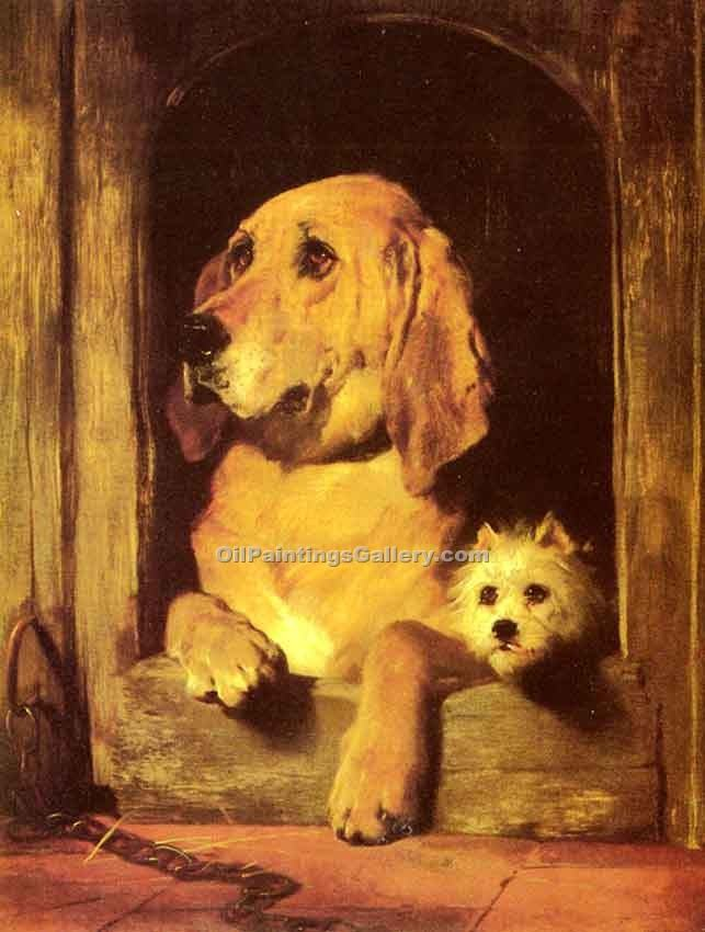 """Dignity and Impudence"" by  Sir Edwin Henry Landseer"