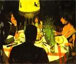 Dinner By Lamplight by  Felix Vallotton (Painting ID: EI-0311-KA)
