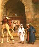 Dispute D Arabes by  Jean Leon Gerome (Painting ID: AN-3266-KA)