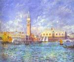Doges Palace, Venice by  Pierre Auguste Renoir (Painting ID: CI-2001-KA)