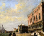 Doges Palace by  Antonietta Brandeis (Painting ID: CI-0083-KA)