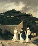 Dominicans by  Elihu Vedder (Painting ID: CL-0844-KA)