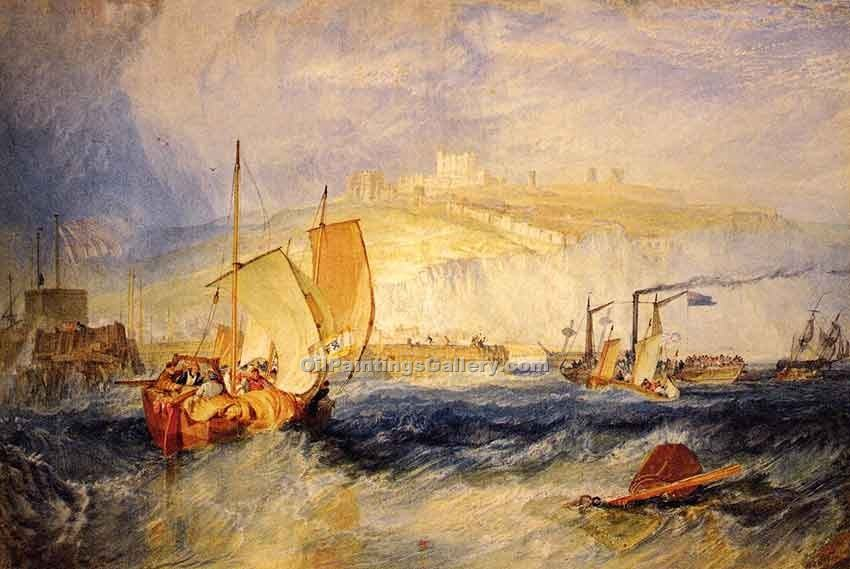 """Dover Castle"" by  William Turner"