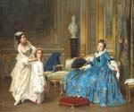 Dressing Up by  Joseph Caraud (Painting ID: CM-1219-KA)