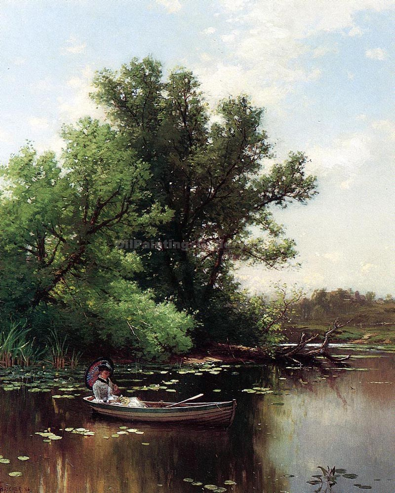 """Drifting 09"" by  Alfred Thompson Bricher"
