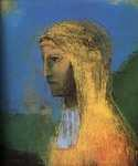 Druidess by  Odilon Redon (Painting ID: ED-0022-KA)