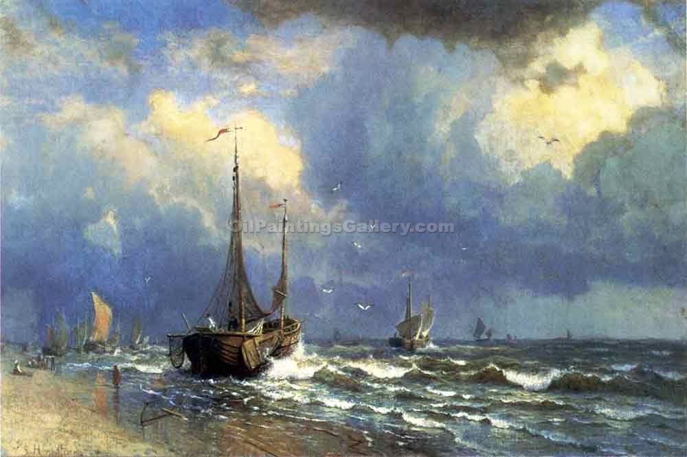 """Dutch Coast"" by  William Stanley Haseltine"