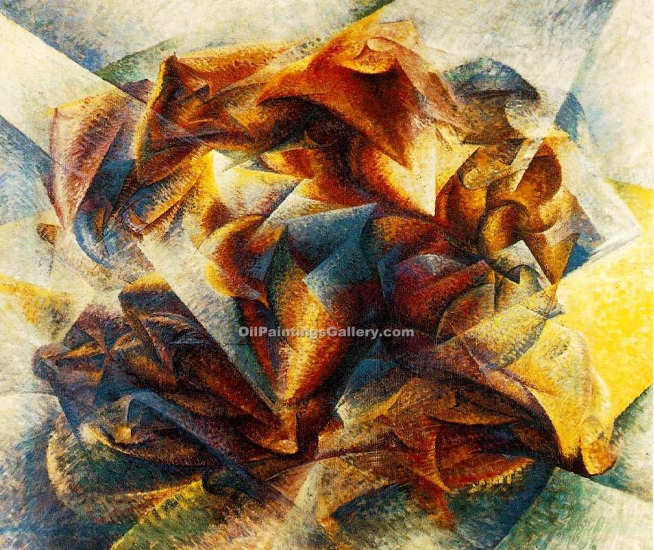 """Dynamism of a Soccer Player"" by  Umberto Boccioni"