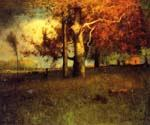 Early Autumn Montclair by  George Inness (Painting ID: IN-1028-KA)