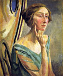 Edith Sitwell by  Roger Eliot Fry (Painting ID: ED-1155-KA)