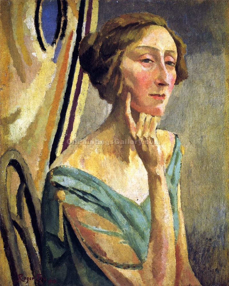"""Edith Sitwell"" by  Roger Eliot Fry"