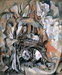 Eiffel Tower with Trees by  Robert Delaunay (Painting ID: AF-0230-KA)