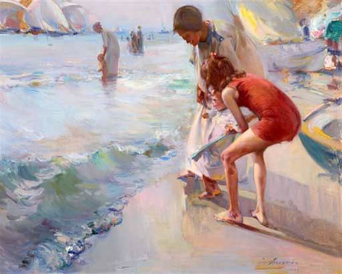 """En La Playa"" by  Jose Navarro Llorens"