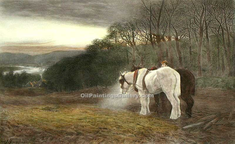 """End of Day"" by  Joseph Farquharson"