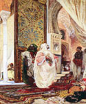 Entering the Harem by  Georges Jules Victor Clairin (Painting ID: ER-0075-KA)