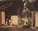 Entrance to a Chalet in the Bernese Oberland by  Jean Baptiste Corot (Painting ID: CO-0875-KA)