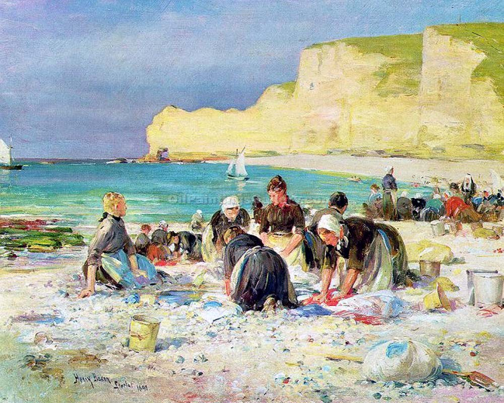 """Etretat"" by  Henry Bacon"