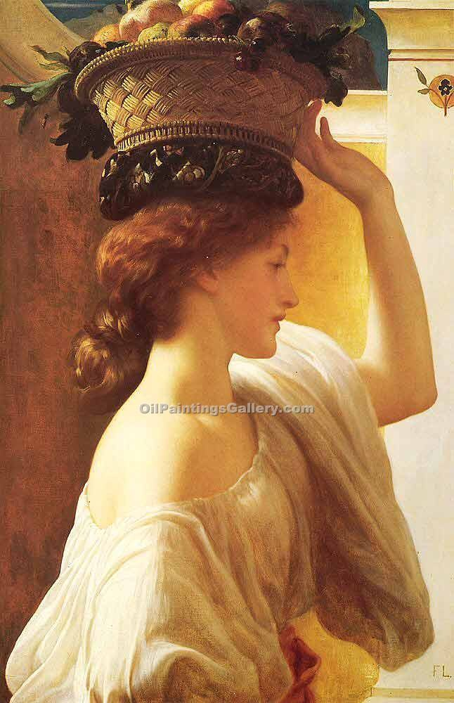 """Eucharis"" by   Leighton Frederic"